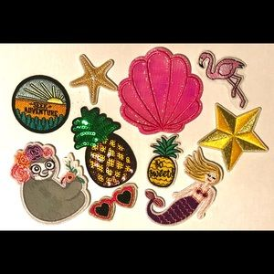 Adorable Iron-on Patches!